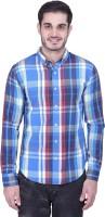House Of Fett Formal Shirts (Men's) - House Of Fett Men's Checkered Formal Multicolor Shirt