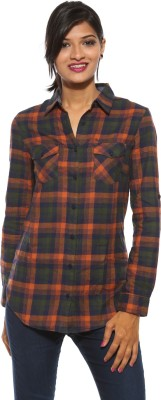 Pepe Women's Checkered Casual Multicolor Shirt