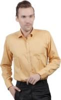 Jorzzer Roniya Formal Shirts (Men's) - Jorzzer Roniya Men's Solid Formal Yellow Shirt