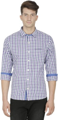 Kingswood Men's Checkered Casual Multicolor Shirt