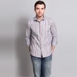 Colormode Men's Striped Formal Multicolo...