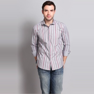 Colormode Men's Striped Formal Multicolor Shirt