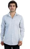 Protonze Men's Checkered Casual Grey Shi...