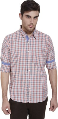 Urban Nomad By INMARK Men's Checkered Casual Red, Black Shirt