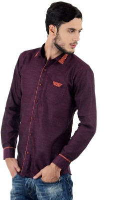 Triple Eight Men's Checkered Casual Purple Shirt