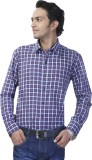 Spaky Men's Checkered Casual Red, Blue S...