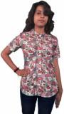 Miraaya Women's Floral Print Formal Mult...
