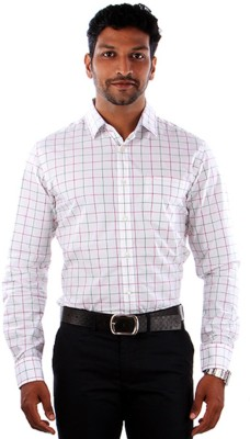 Indian Terrain Men's Striped Formal Multicolor Shirt