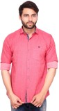 RKF Men's Solid Casual Red Shirt