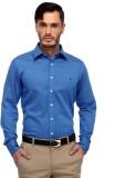 Frank Jefferson Men's Solid Casual Blue ...
