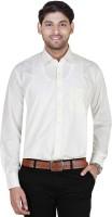 Jansons Formal Shirts (Men's) - Jansons Men's Solid Formal Beige Shirt