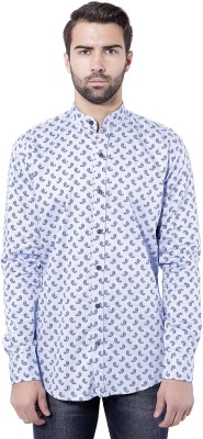 Tag & Trend Men's Printed Casual Blue Shirt