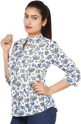 RPB Casual Full Sleeve Printed Girl's Multicolor Top