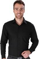 Magson Ace Formal Shirts (Men's) - Magson Ace Men's Solid Formal Black Shirt