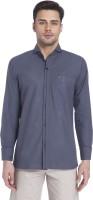 Erdferkel And Wobbegong Formal Shirts (Men's) - Erdferkel and Wobbegong Men's Checkered Formal Grey Shirt