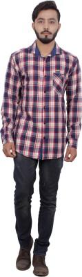 FLC Men's Checkered Casual Multicolor Shirt