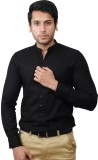 Flakes Fashion Men's Solid Casual Black ...