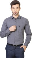 People Formal Shirts (Men's) - People Men's Solid Formal Grey Shirt