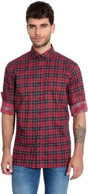 Estycal Men,s Checkered Casual Multicolor Shirt