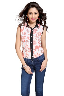 Victorian Clothing Women's Printed Casual Multicolor Shirt