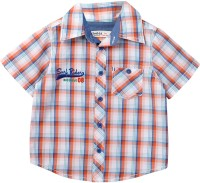 Beebay Baby Boys Checkered Casual Multicolor Shirt