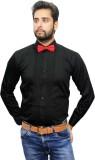 Beetle Men's Solid Formal Black Shirt