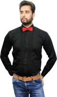 Beetle Formal Shirts (Men's) - Beetle Men's Solid Formal Black Shirt