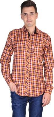 FUEGO Men's Checkered Casual Multicolor Shirt