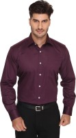 Blacksmith Formal Shirts (Men's) - Blacksmith Men's Solid Formal Purple Shirt