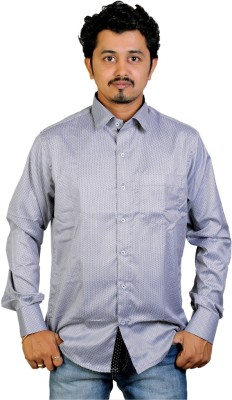 Egoist Men's Woven Formal Grey Shirt