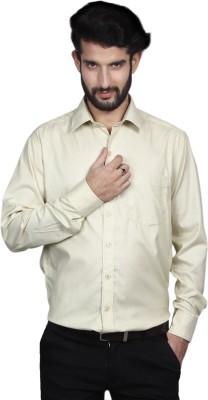 Yorkshire Men's Solid Formal White Shirt