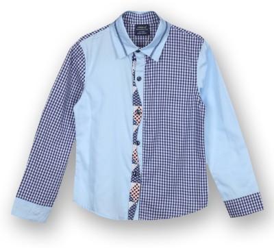 Lilliput Boy,s Solid Casual Blue Shirt