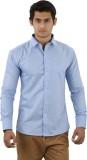 Aurus Men's Solid Formal Light Blue Shir...