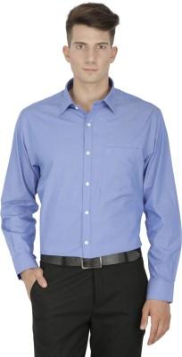 Kingswood Men's Solid Formal Light Blue Shirt