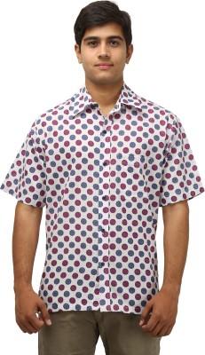 Antaragya Men's Printed Casual Multicolor Shirt
