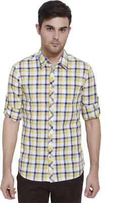 Slub By INMARK Men's Checkered Casual Multicolor Shirt