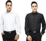 Try Me Men's Solid Formal Multicolor Shi...