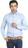 Adventure Men's Solid Formal Light Blue ...