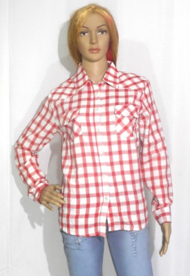 umesh fashion Women's Checkered Casual Multicolor Shirt