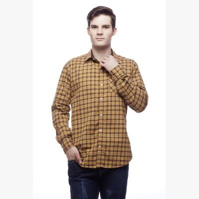 Akara Men's Checkered Casual Shirt
