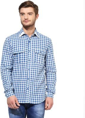 Srota Men's Checkered Casual Reversible Multicolor Shirt