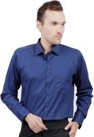 Jorzzer Roniya Formal Shirts (Men's) - Jorzzer Roniya Men's Solid Formal Dark Blue Shirt