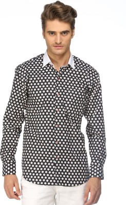 Cairon Men's Solid Party Shirt