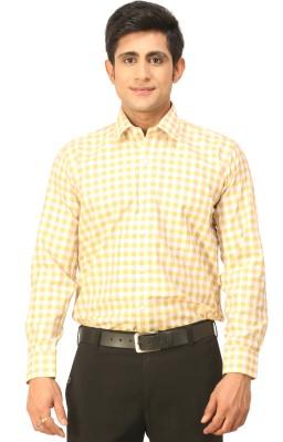 Seven Days Men's Checkered Formal Multicolor Shirt