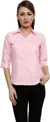 Fellows International Women's Solid Formal Multicolor Shirt