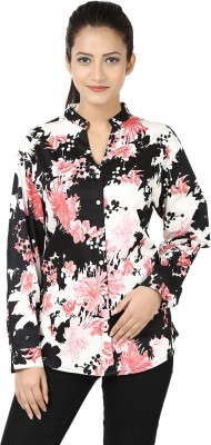 Adhaans Women,s Printed Casual Multicolor Shirt