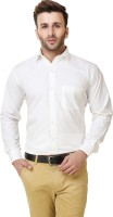 Austin m Formal Shirts (Men's) - Austin-M Men's Solid Formal White Shirt