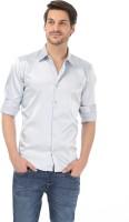 Basics Formal Shirts (Men's) - Basics Men's Solid Formal Blue Shirt