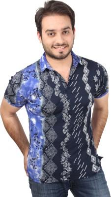Bali Hai Men's Printed Casual Multicolor Shirt