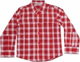 Babeez Boys Checkered Casual Red, White ...